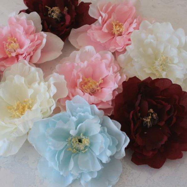 画像1: 華やかコサージュA/成人式/結婚式/お値打ち/着物小物/髪飾り/振袖/卒業式 (1)
