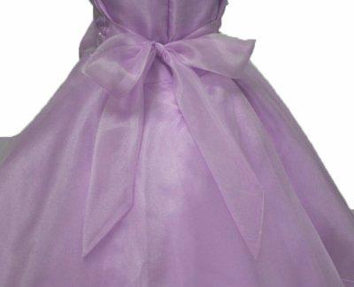 画像2: 子供ドレス サフラン(紫)発表会 バレエ衣装 ジュニアドレス 七五三 女の子 ドレス