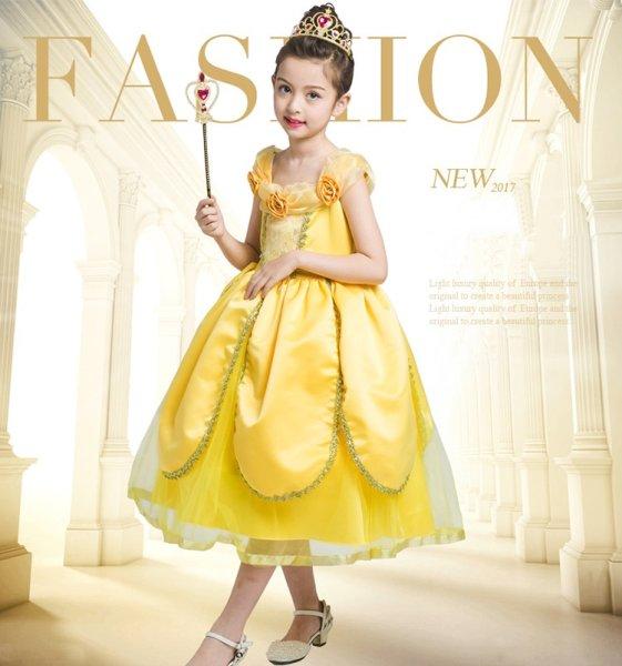 画像1: 子供ドレス プリンセス ベル  (1)