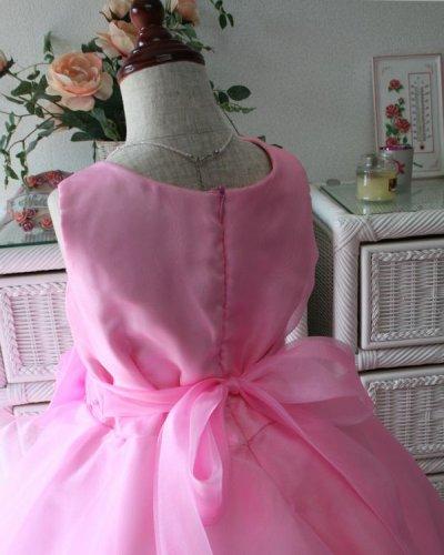 画像2: 子供ドレス サフラン(ライトピンク)演奏会用ドレス/発表会/お値打ち/オーダー/ジュニア