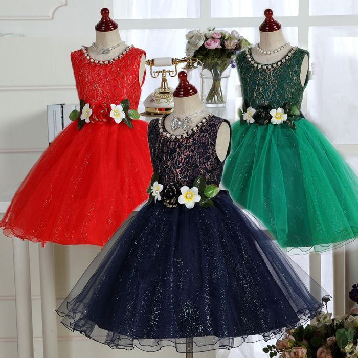 a47fe982557dd 子供ドレス キラキラ フラワードレス マーガレット  d0txdress010